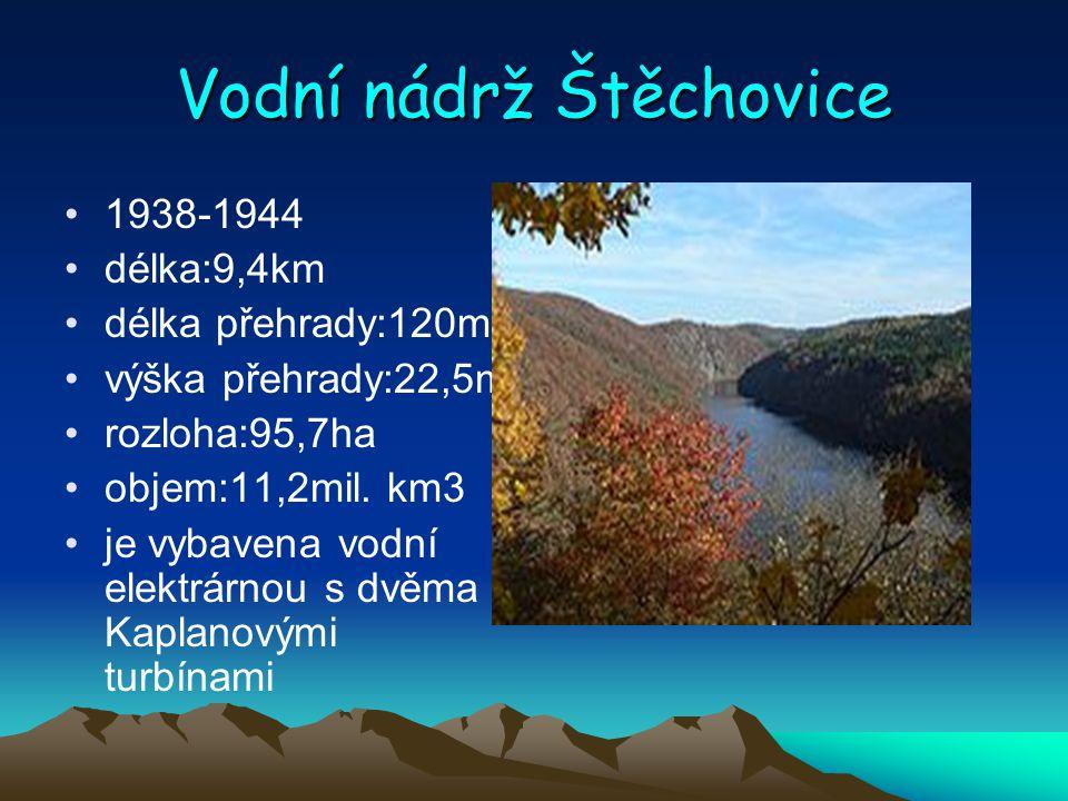 Vodní nádrž Štěchovice