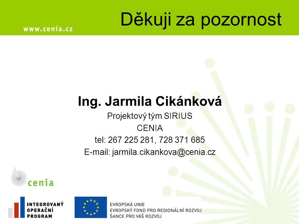 E-mail: jarmila.cikankova@cenia.cz