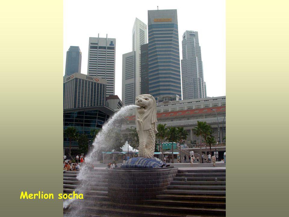 Merlion socha