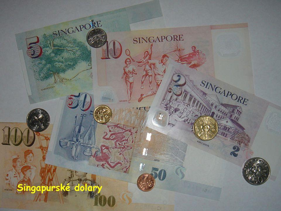 Singapurské dolary