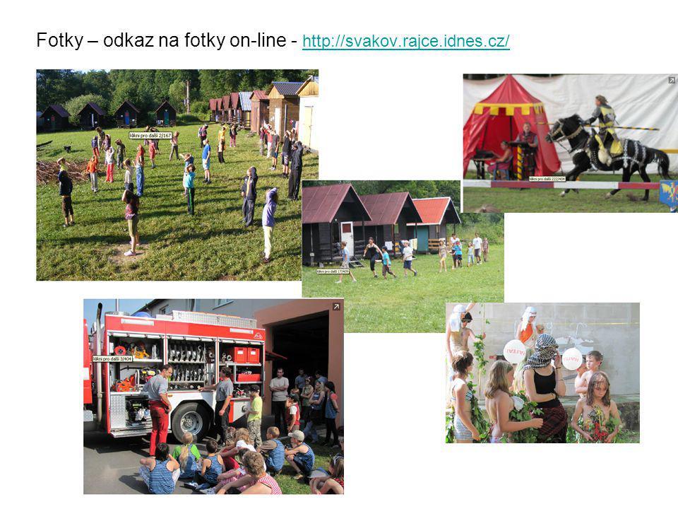 Fotky – odkaz na fotky on-line - http://svakov.rajce.idnes.cz/