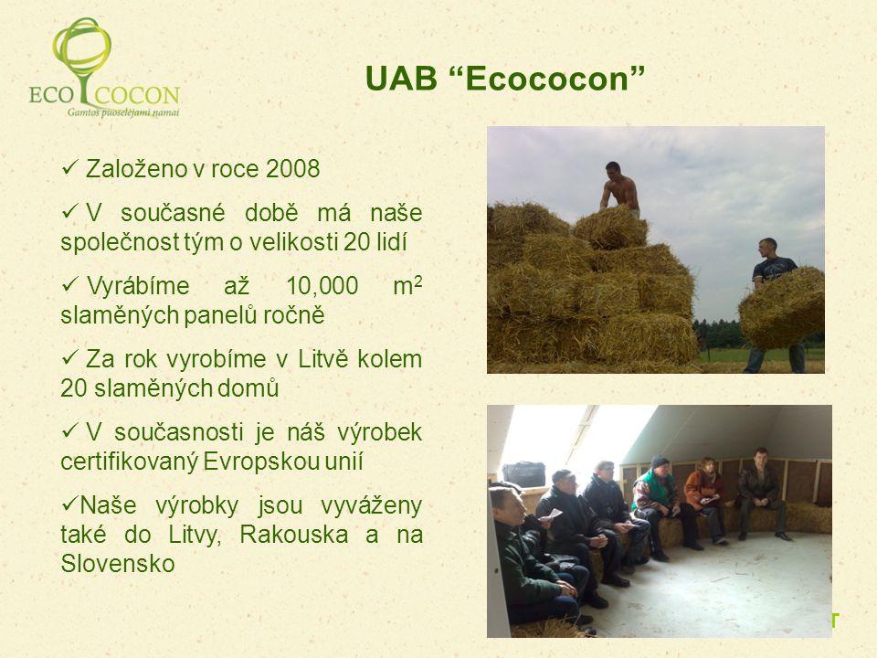 UAB Ecococon Založeno v roce 2008