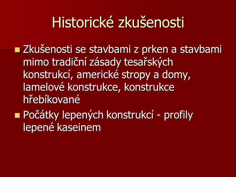 Historické zkušenosti
