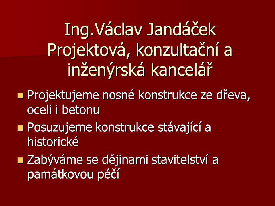 Ing.Václav Jandáček Projektová, konzultační a inženýrská kancelář