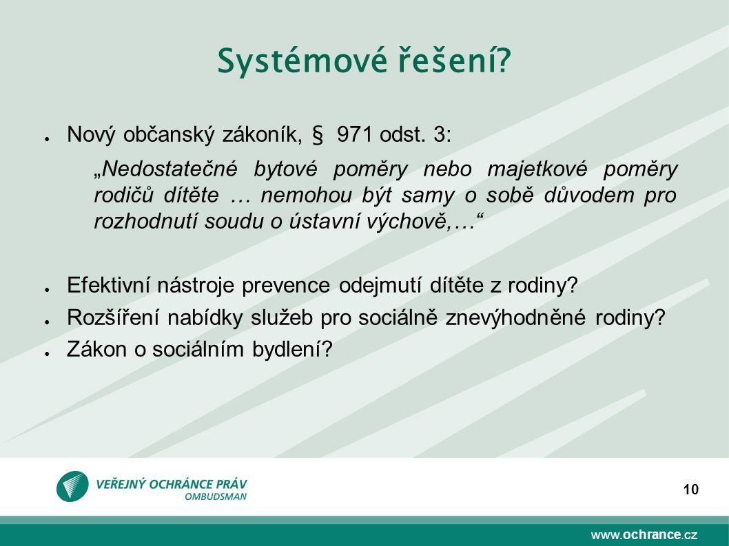 Systémové řešení Nový občanský zákoník, § 971 odst. 3: