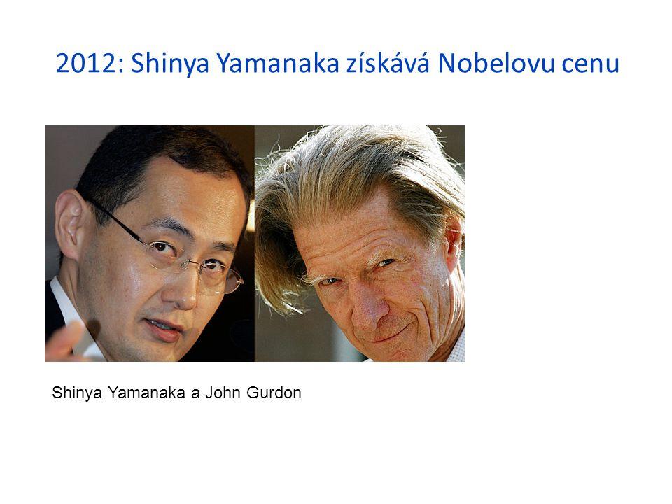2012: Shinya Yamanaka získává Nobelovu cenu
