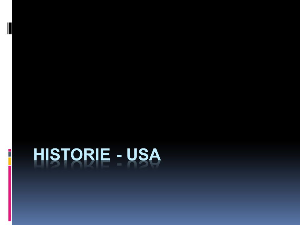 historie - USA