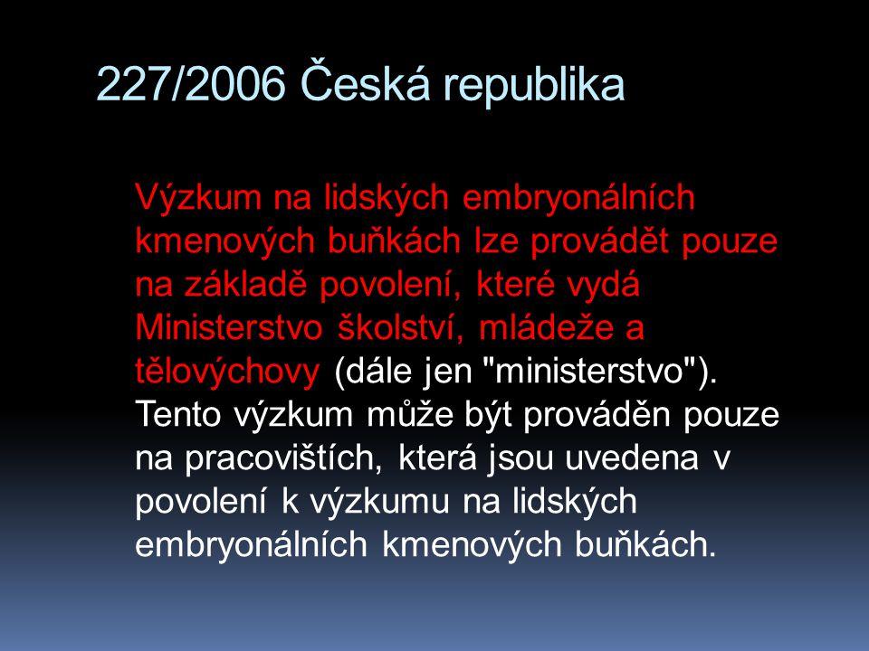 227/2006 Česká republika
