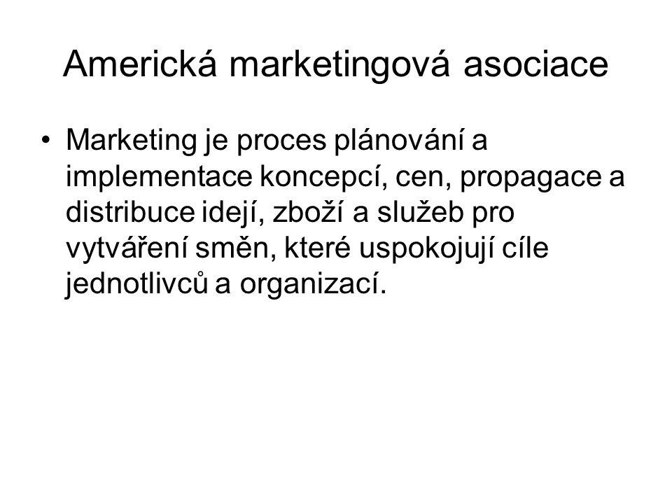 Americká marketingová asociace
