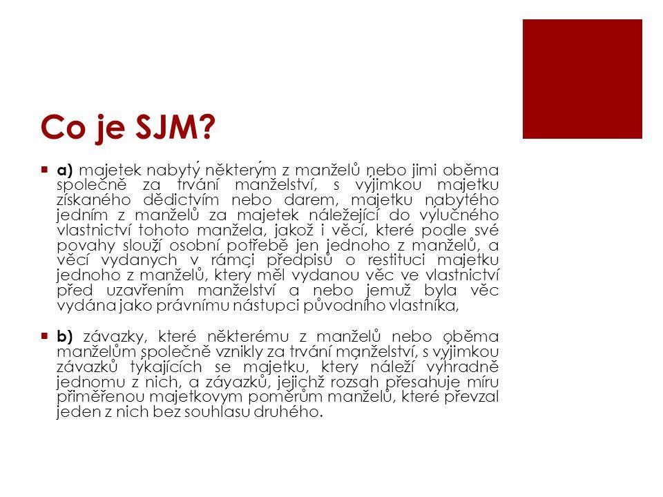 Co je SJM