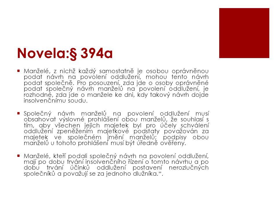 Novela:§ 394a
