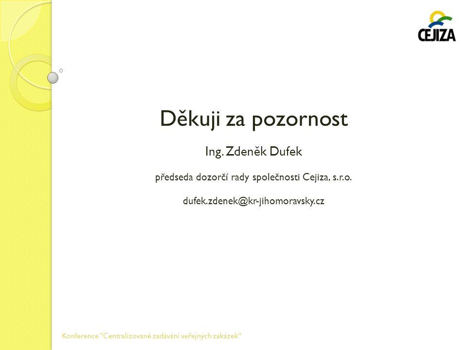 předseda dozorčí rady společnosti Cejiza, s.r.o.