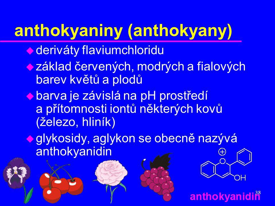 anthokyaniny (anthokyany)
