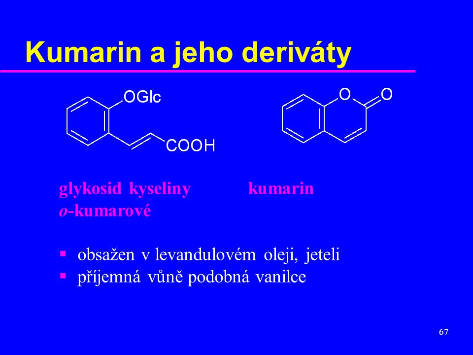 Kumarin a jeho deriváty