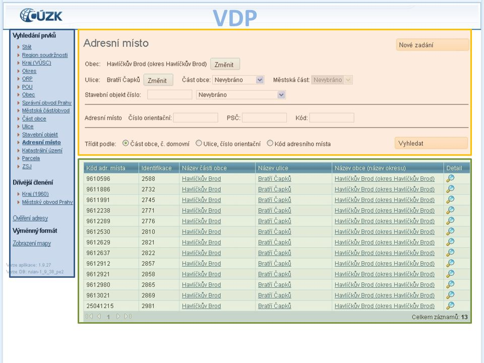 Veřejný dálkový přístup (VDP)