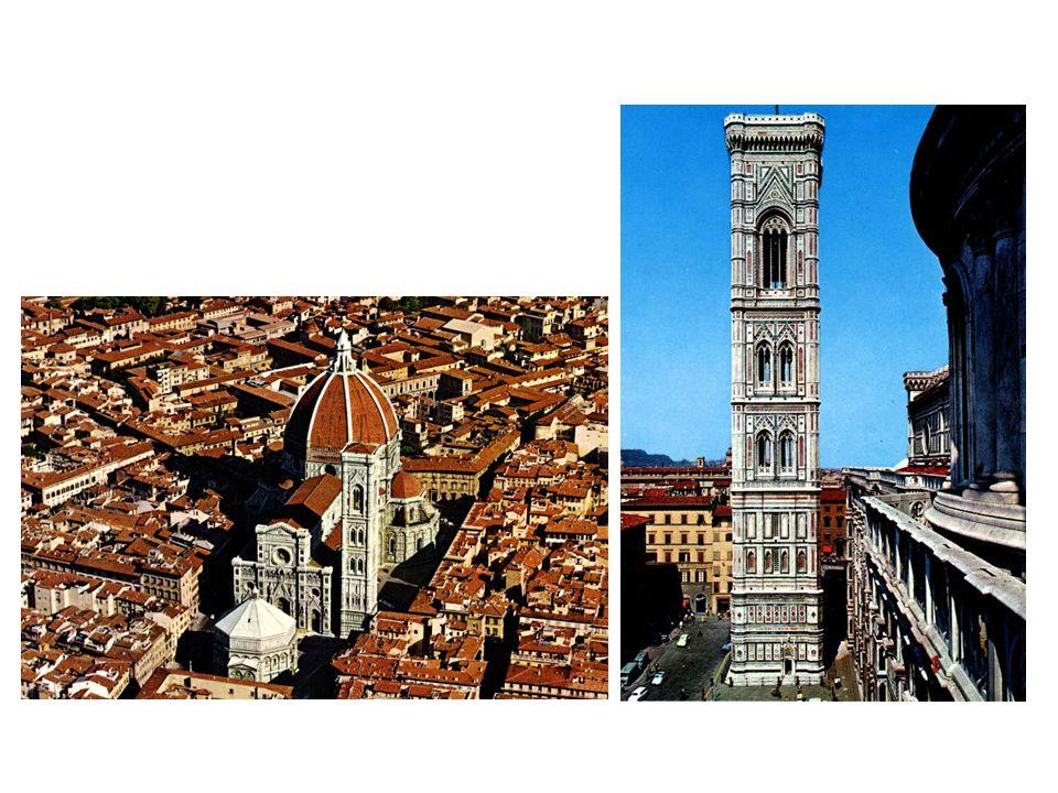 Dóm a zvonice ve Florencii