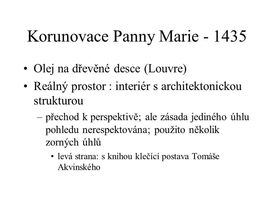 Korunovace Panny Marie - 1435