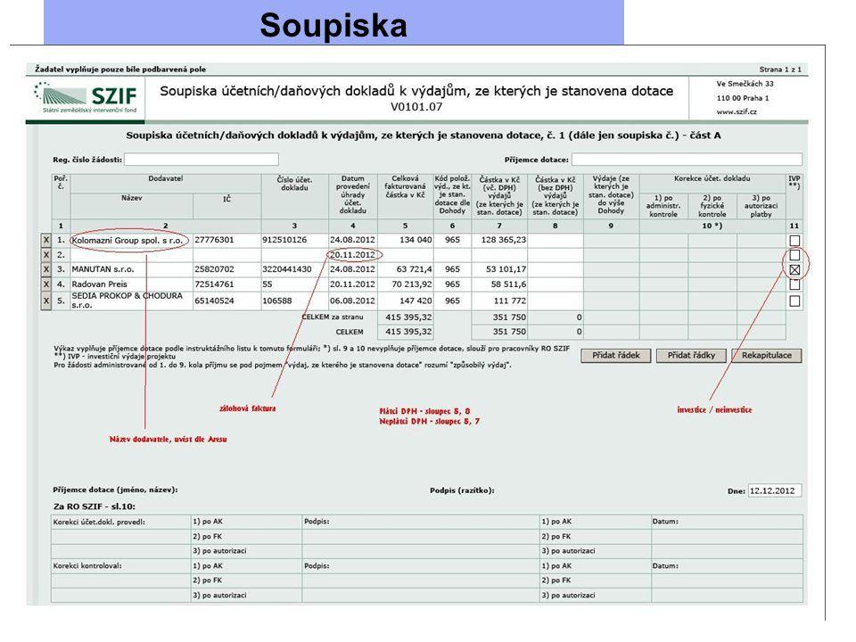 Soupiska