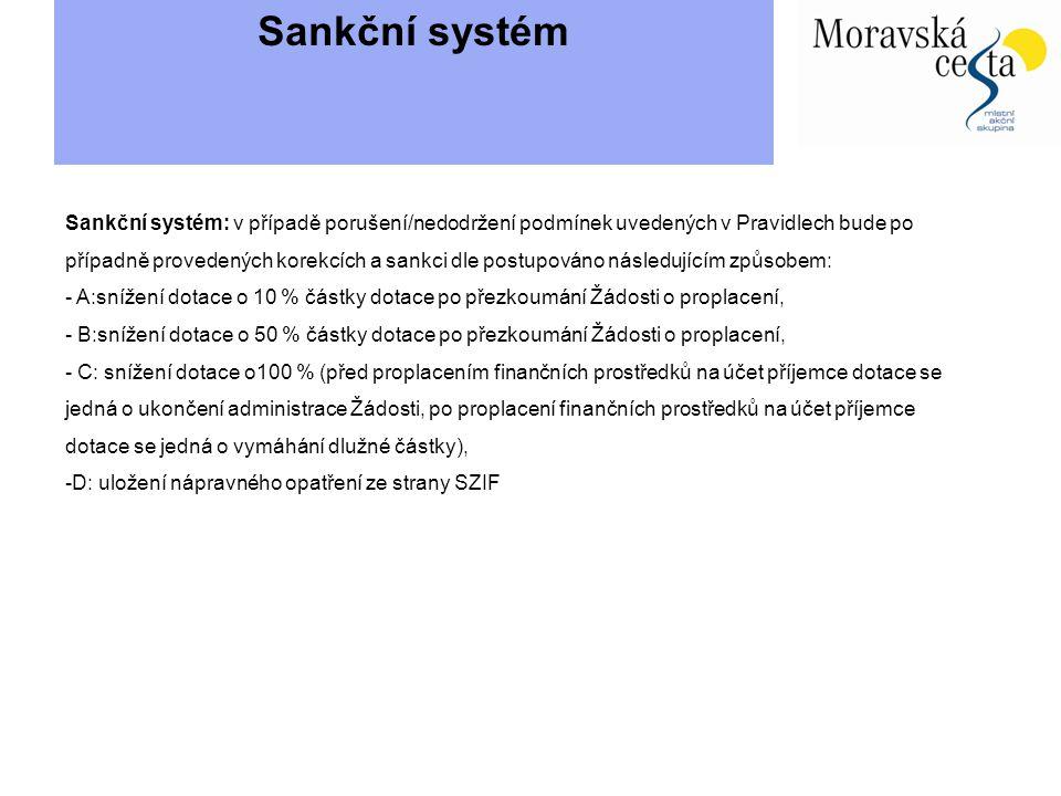 Sankční systém
