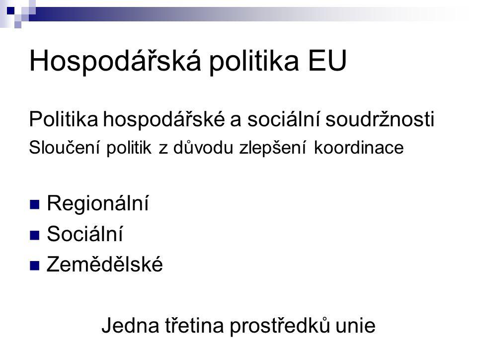 Hospodářská politika EU