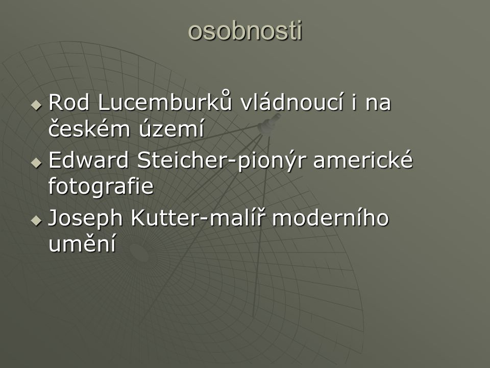 osobnosti Rod Lucemburků vládnoucí i na českém území