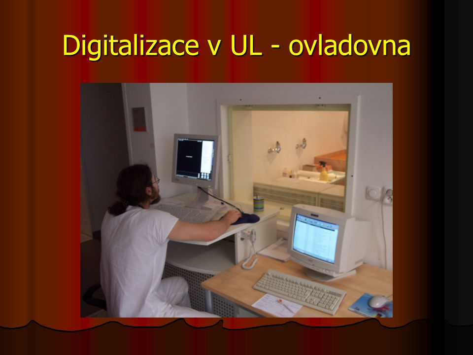 Digitalizace v UL - ovladovna
