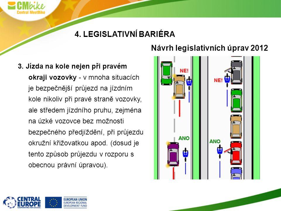 Návrh legislativních úprav 2012