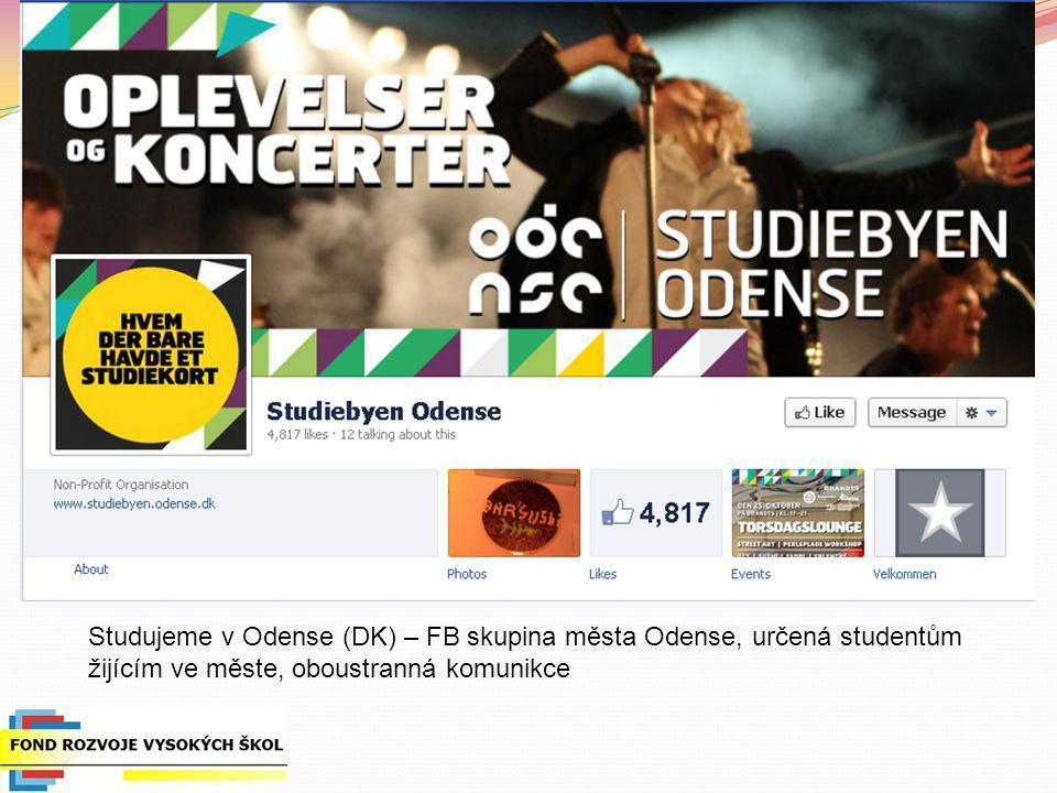 Studujeme v Odense (DK) – FB skupina města Odense, určená studentům