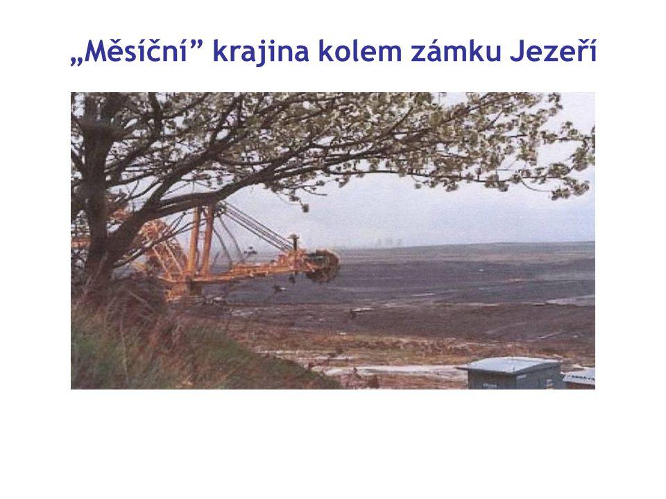 """""""Měsíční krajina kolem zámku Jezeří"""