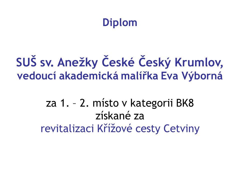 SUŠ sv. Anežky České Český Krumlov,