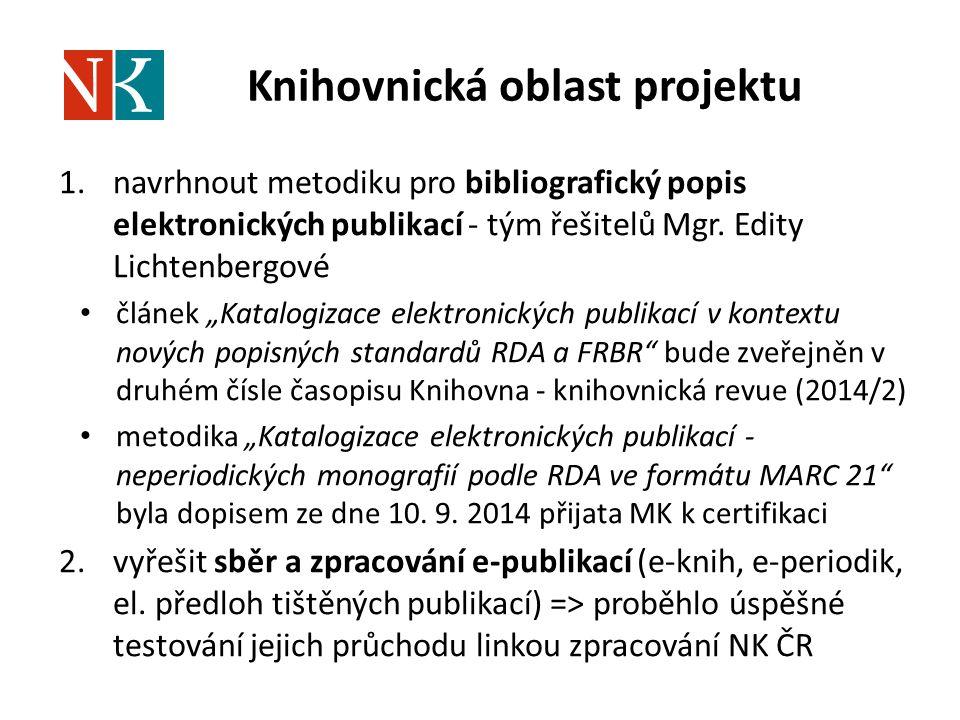 Knihovnická oblast projektu