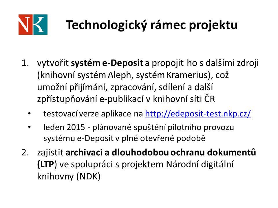 Technologický rámec projektu
