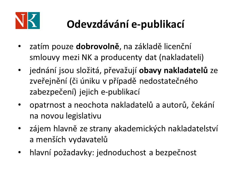 Odevzdávání e-publikací