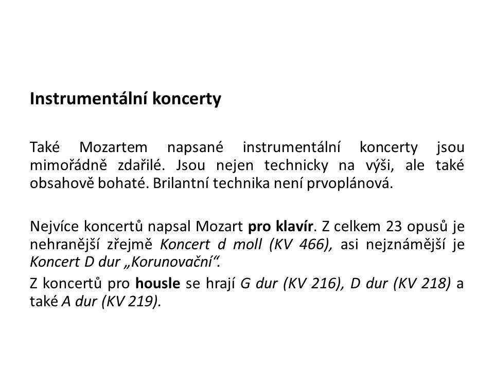 Instrumentální koncerty