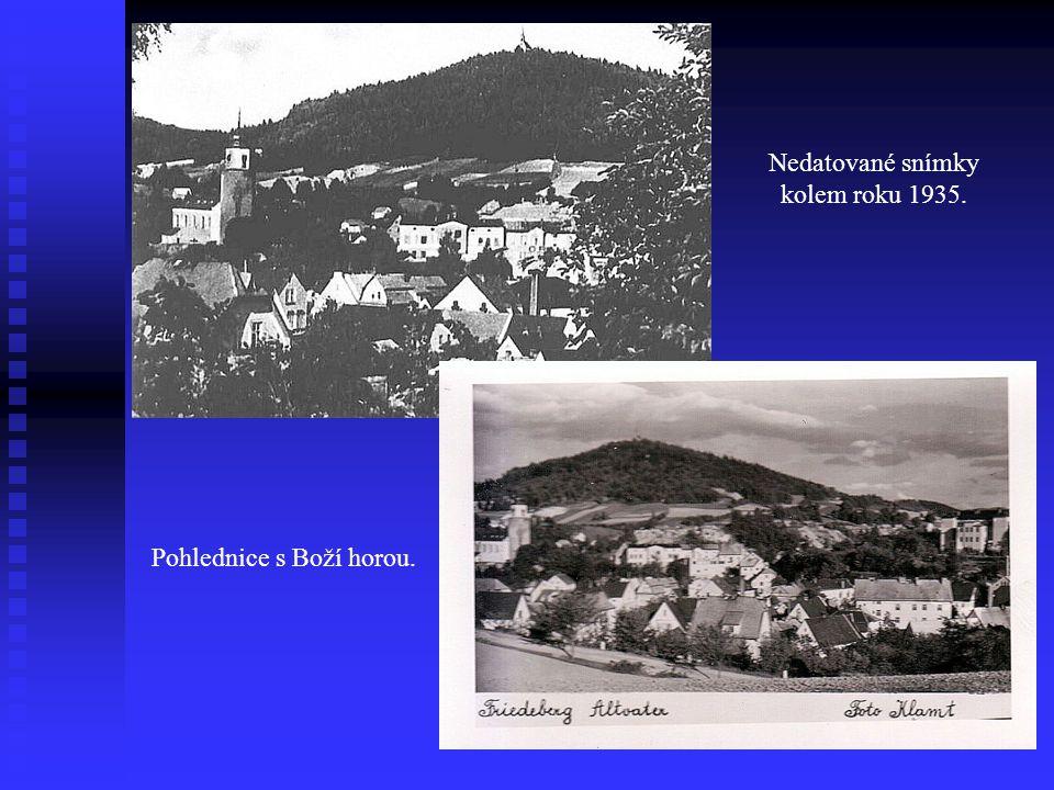 Nedatované snímky kolem roku 1935.