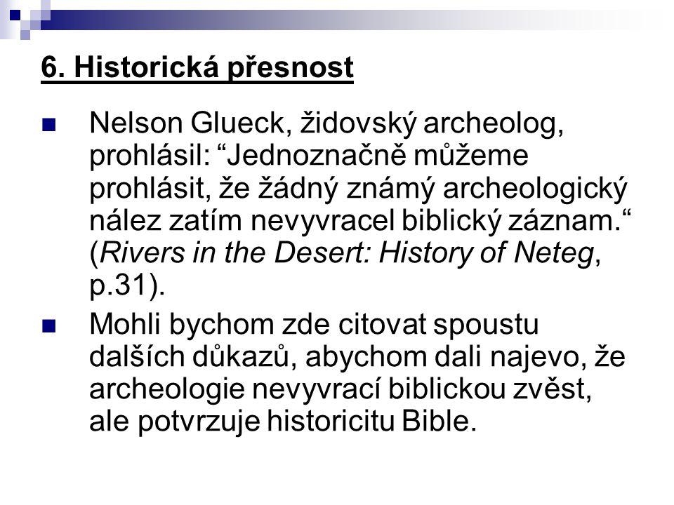 6. Historická přesnost