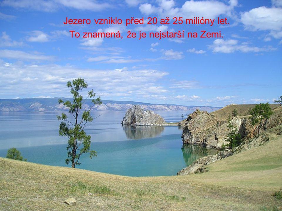 Jezero vzniklo před 20 až 25 milióny let.