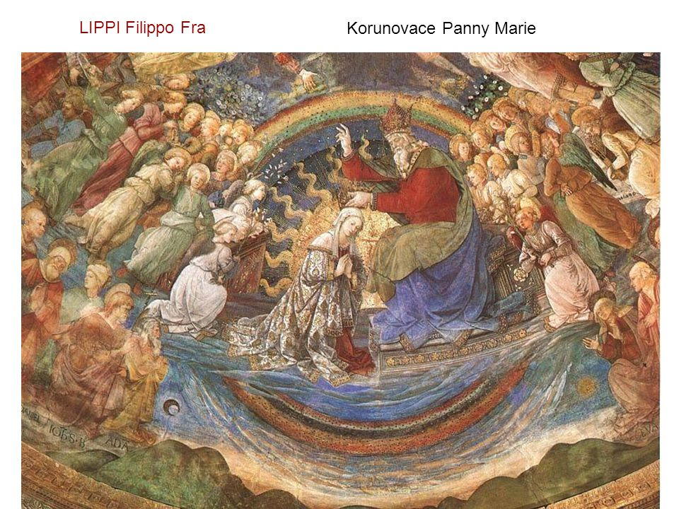 LIPPI Filippo Fra Korunovace Panny Marie
