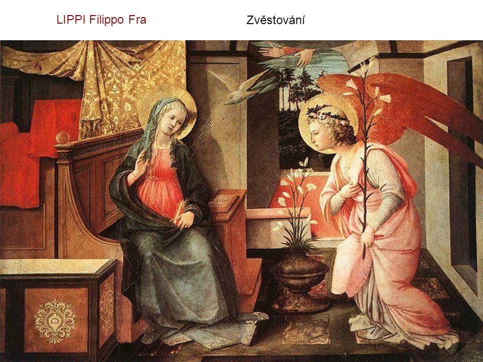 LIPPI Filippo Fra Zvěstování
