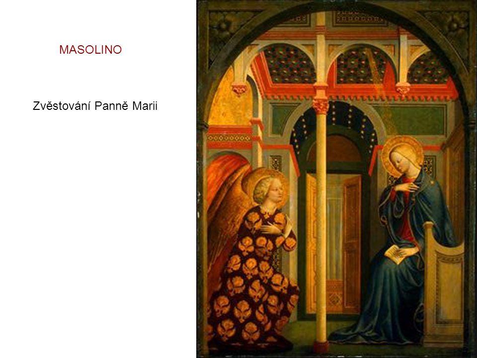 MASOLINO Zvěstování Panně Marii