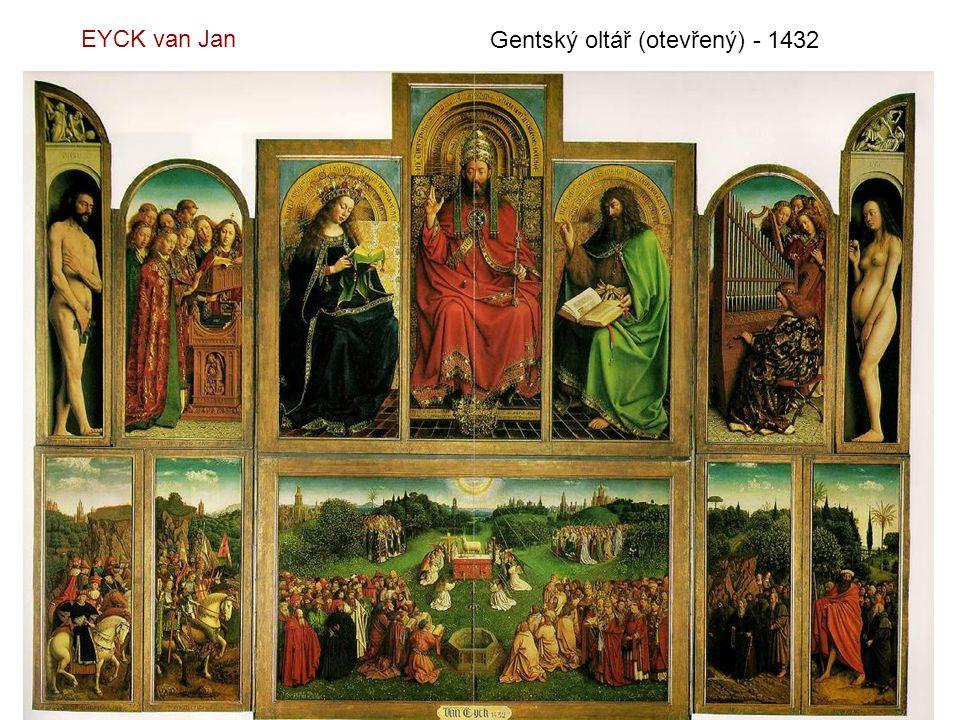 EYCK van Jan Gentský oltář (otevřený) - 1432