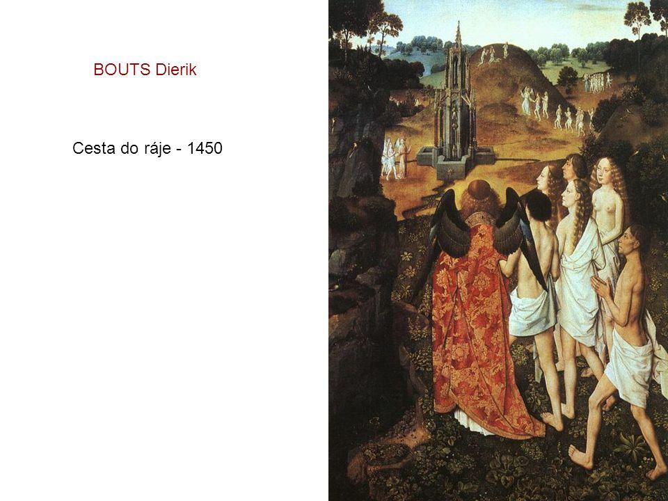 BOUTS Dierik Cesta do ráje - 1450