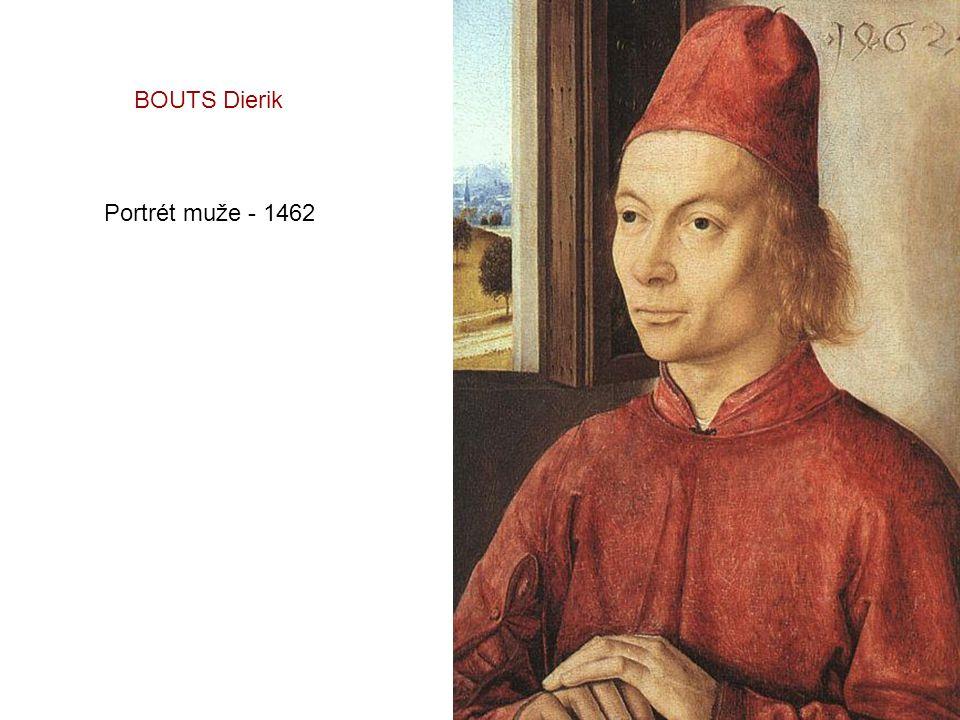 BOUTS Dierik Portrét muže - 1462