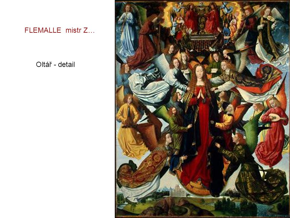 FLEMALLE mistr Z… Oltář - detail