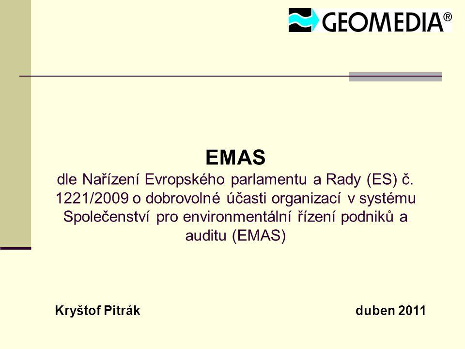 EMAS dle Nařízení Evropského parlamentu a Rady (ES) č