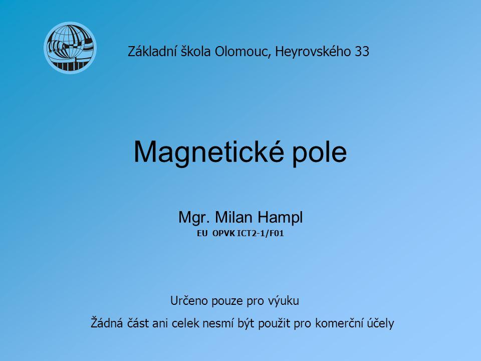 Mgr. Milan Hampl EU OPVK ICT2-1/F01