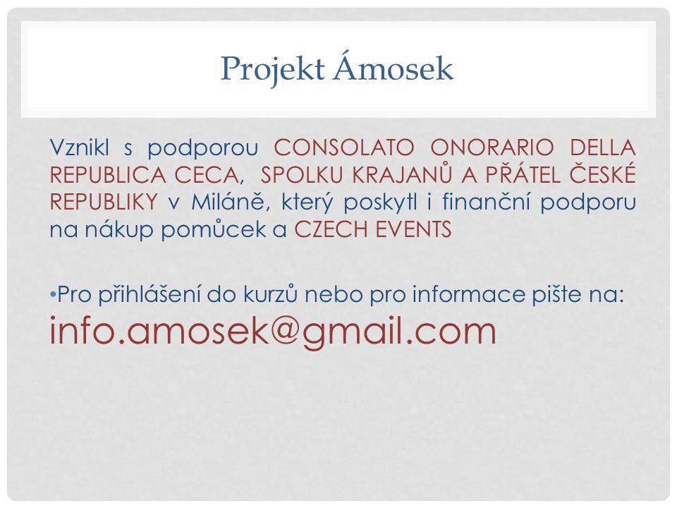 Projekt Ámosek