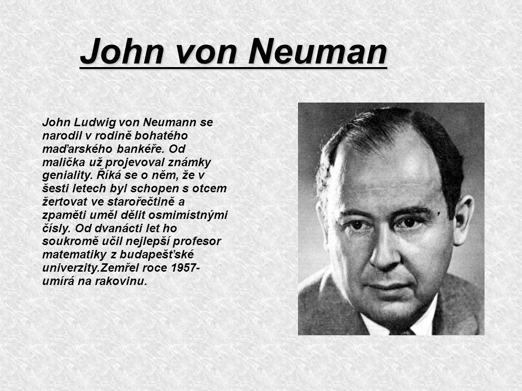John von Neuman