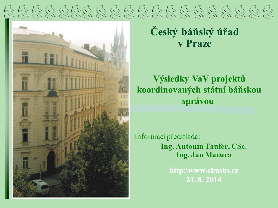 Český báňský úřad v Praze
