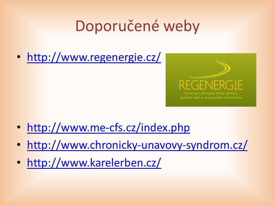 Doporučené weby http://www.regenergie.cz/